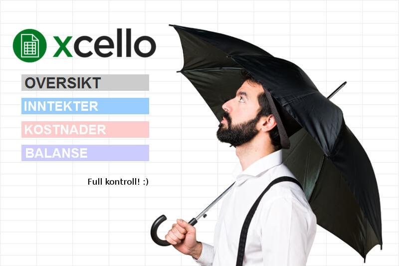 Slik gjør du regnskapet med XCELLO